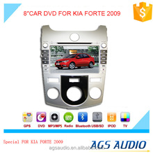 AGS special 8'' touch screen car dvd player for kia forte 2009