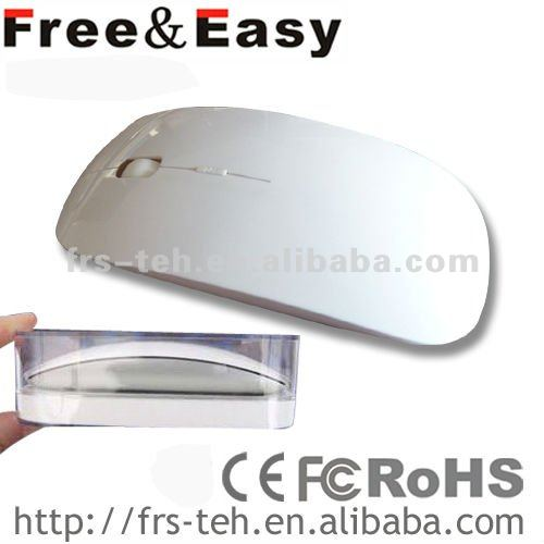 fashion shape quiet touch wireless mouse