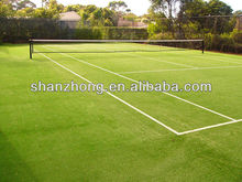 durable artificial tennis court grass turf flooring for basketball court