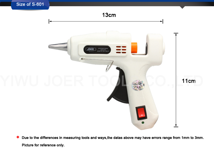 S-601 25w anti-drip hot melt glue gun