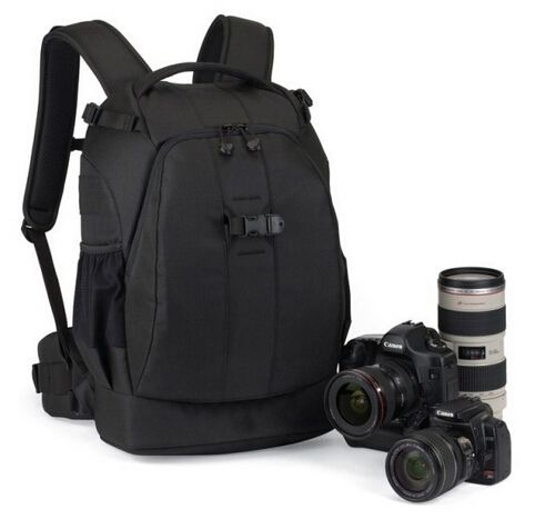 Waterproof camera bag backpack with removable backpack straps
