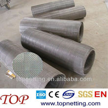 4mm aperture/opening Crimped wire mesh/ Quarry screen