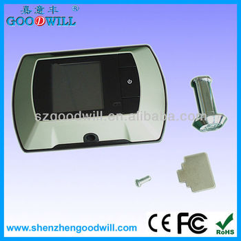2.4 inch electronic peep hole viewer door camera GW601A-3 China Factory
