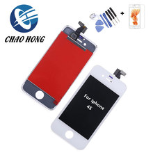 For shenchao lcd screens for iphone 4s shenchao lcd complete with free tempered glass + tools