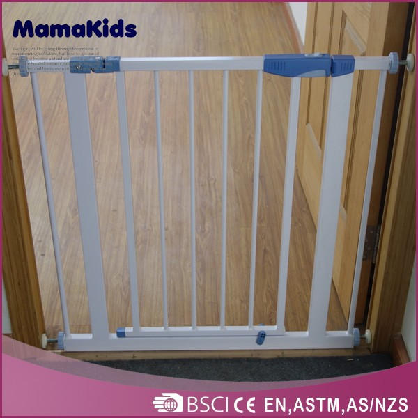 china supplier metal baby door safety gate for wholesale