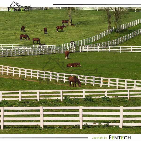 Customized High Quality Low Price Ranch Rail Fence Designs
