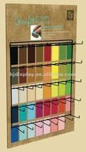 New customized wall hook fabric wall display stands
