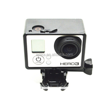 with Assorted Mounting Hardware for go pro BacPac Frame for Go pro Hero3+/3 for gopro accessories