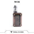 2018 Newset  Punk 220W kit With  Resin Tank Tesla Punk 220w With 4 Color Available
