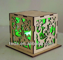 collapsible wooden candy box