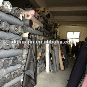 PVC Artificial Leather Stock Lot for Shoes, Furniture, Chairs, Sofa