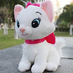The Aristocats cat plush toys Marie cat plush dolls Soft Stuffed Animals toys for children 20cm Christmas Gifts