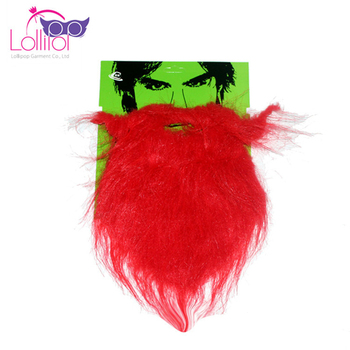 Popular red moustache fake beard moustache for party