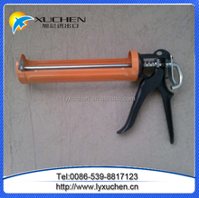 Steel frame aluminium handle manual caulking gun to India market