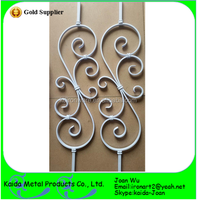 Fancy Wrought Iron S Scroll Balusters Wholesale