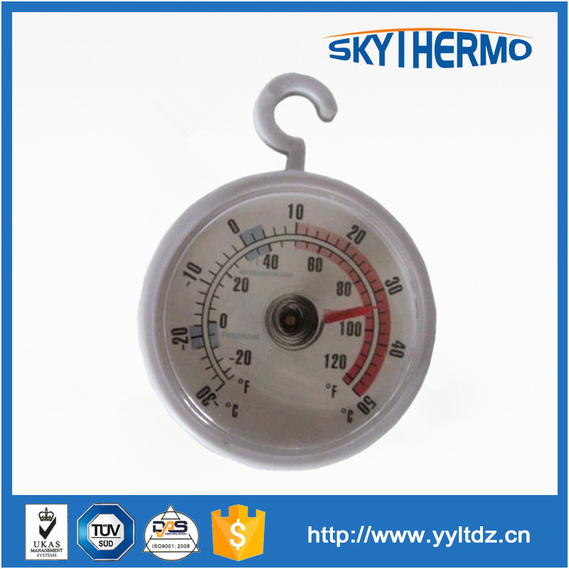 plastic household indoor small mini thermometer room temperature gaug