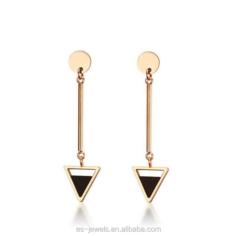 Custom High Quality Fashion Earring Latest Designs New Model Of In Gold Earrings
