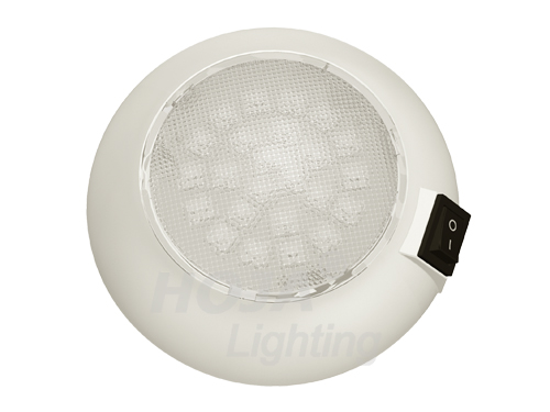 4.5 inch LED Portable Utility Light, Battery Operated led dome light use in boat and rv