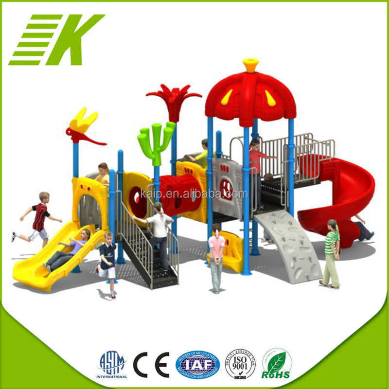 Toys For Outdoor Park/Plastic Preschool Outdoor PlaygroundCenter Playset/Kids Plastic Slide For Fun