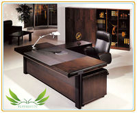 Guangzhou Flyfashion office furniture ET-06 high end wooden office executive desk