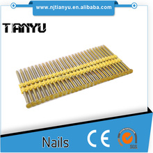 21 -Degree Full Round Head Plastic Collated Framing Strip Nails