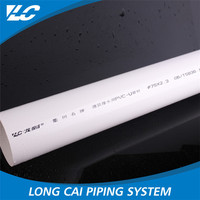 2015 2 inch pvc pipe for water supply