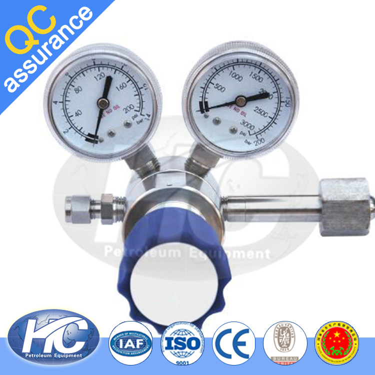 China producer low pressure gauge / oil pressure gauge / bourdon tube pressure gauge with low price