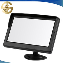 5 Inch TFT LED Car Foldable Rearview Monitor/ Car Monitor With AV Input