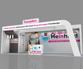 Top quality exhibition booth , wood booth , tradeshow booth