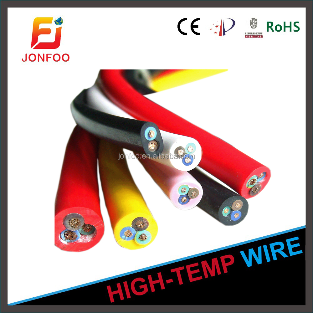 CABLE SIZE AND CURRENT RATINGFLAT SILICONE INSULATION JACKET HIGH TEMPERATURE RESISTANCE CORROSION WEARFLAT FLEXIBLE CABLE YGGB