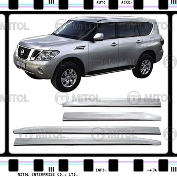 Chrome Side Moulding Cover For Nissan PATROL 10-on, Auto Accessories