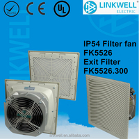 China filter fan for electrical power distrubtion panel cabinet