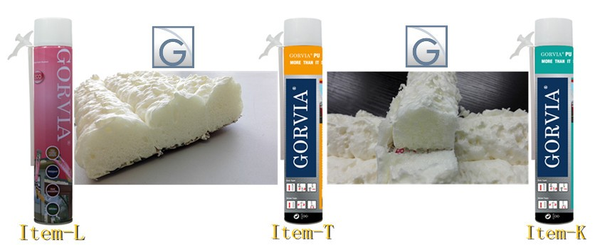 Gorvia Item-L 750ml PU foam filler