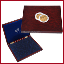 Newest design Wooden handmade coin box for collection
