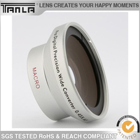 mobile phone camera 2 in 1 lens 0.67X wide angle +10X macro lens for samsung galaxy s4 mini
