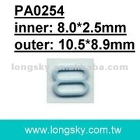 bra sliders and underwear accessories (PA0254/8mm inner)