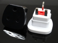 Popular cheapest usb europe to uk plug adaptor