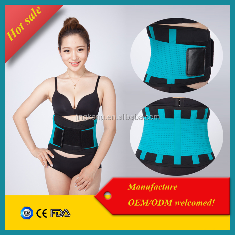 Alibaba express weight loss waist band colorful waist trimmer / belly reducing belt