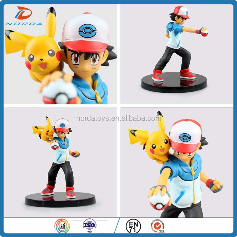 PVC pokemon Pikachu action figures toys