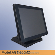 "15"" bezel free IP65 touch screen pos Monitor with flat design"