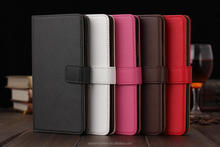 Real Leather Case for Samsung galaxy note 4 with credit card horder MT-2540