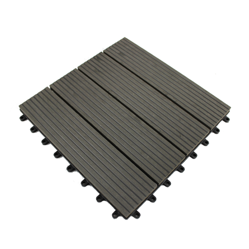 "wpc manufacturer wpc veranda easy deck tile 12""x12"" outdoor decking floor"