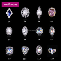 New arrival hot sale DIY different designed jewelry alloy nail art accessories