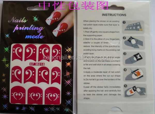 design sticker nail art custom nail art stickers nail supplier