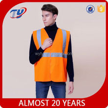 aa155 high performance fabric reflective vests test certification safety vest reflective vest