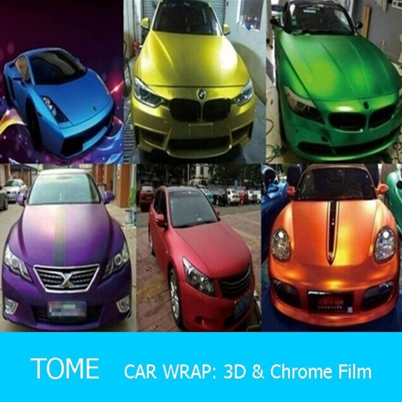 Stretch wrap film, Camouflage car for car body, Car wrap film