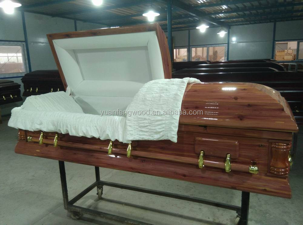 D-RED CEDAR funeral equipment for US style coffins