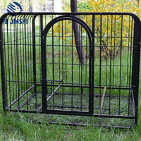 Powder coated wire mesh pet dog crate/dog cage/dog kennel