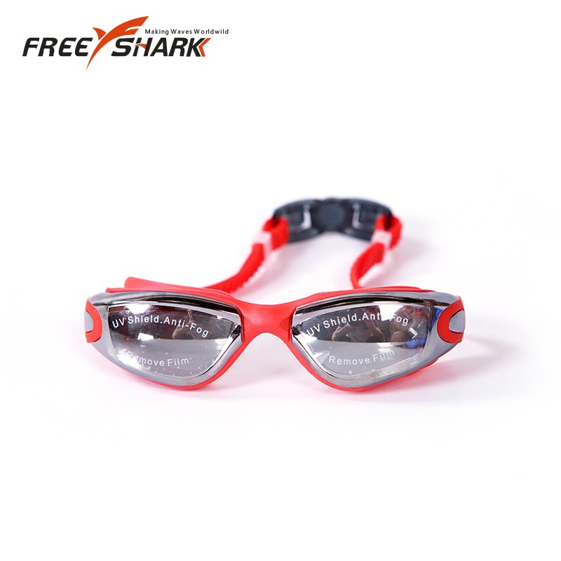 Mirror Coating Waterproof Prevent Mist Ultraviolet Swimming Goggles