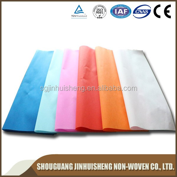 high quality waterproof pp non woven fabric, flower packing nonwoven/pp nonwoven